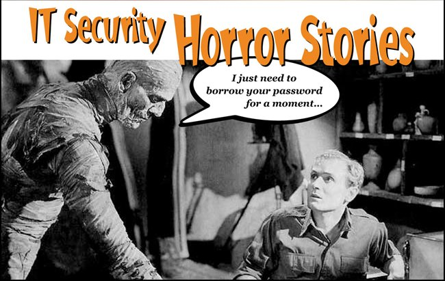Image: IT security horror stories