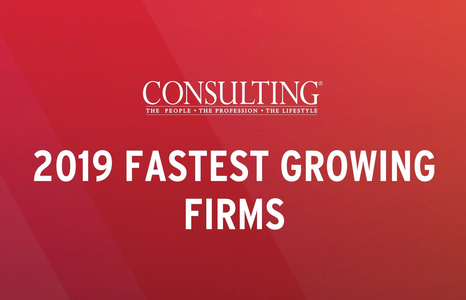 2019 Fastest Growing Firms