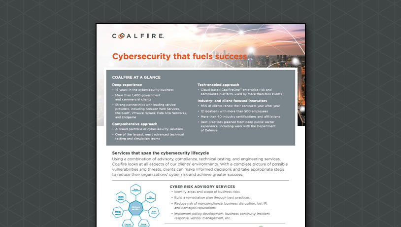 Coalfire Corporate Overview