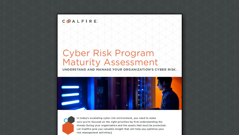 Cyber Risk Program Maturity Assessment