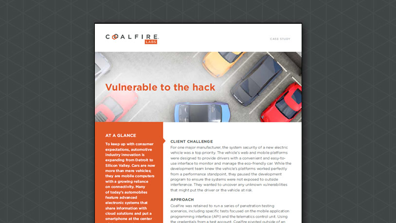 Penetration testing - hacking into automotive systems