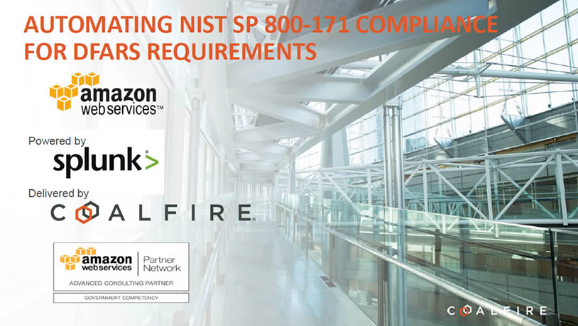 Automating NIST SP 800-171 Compliance for DFARS Requirements