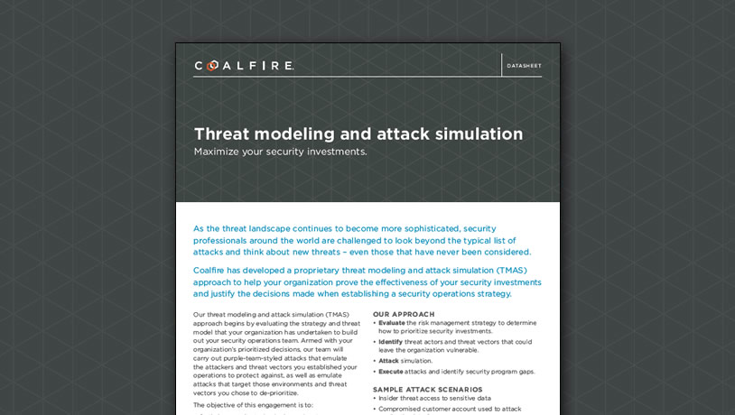 Threat modeling and attack simulation