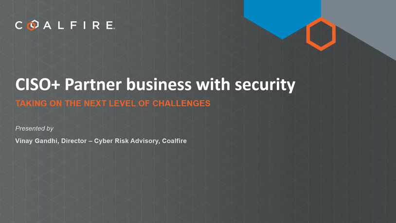 CISO+ Partner business with security