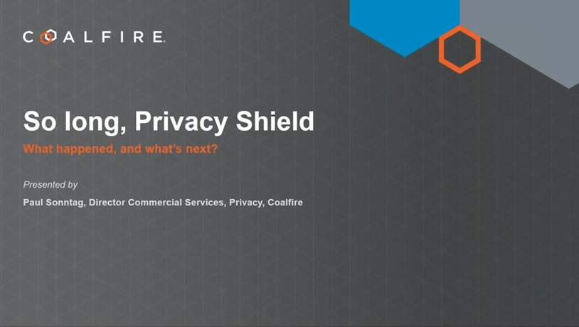 So long Privacy Shield