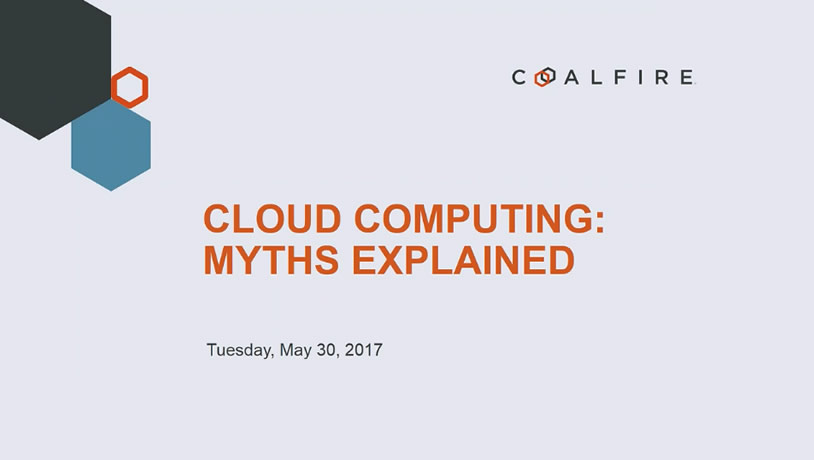 Cloud Computing: Myths Explained