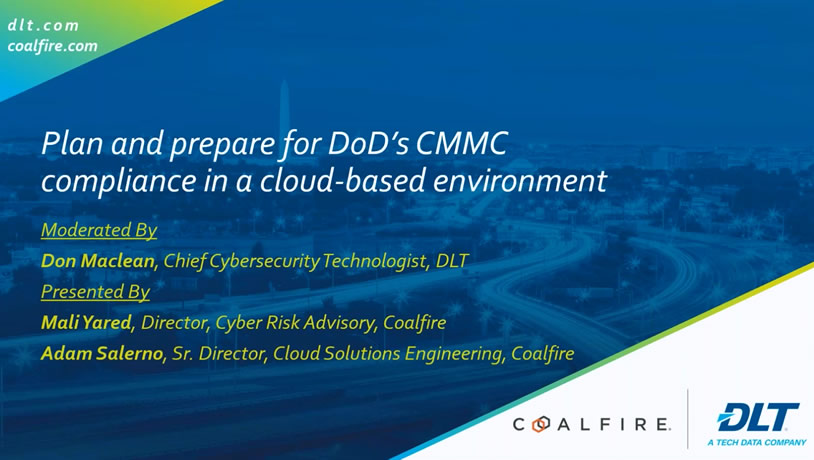 Plan and prepare for CMMC compliance in a cloud-based environment