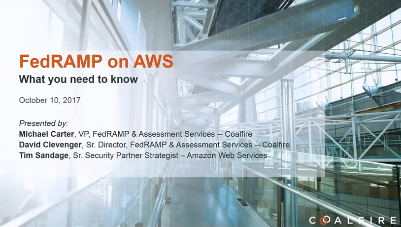 FedRAMP on AWS: What You Need to Know