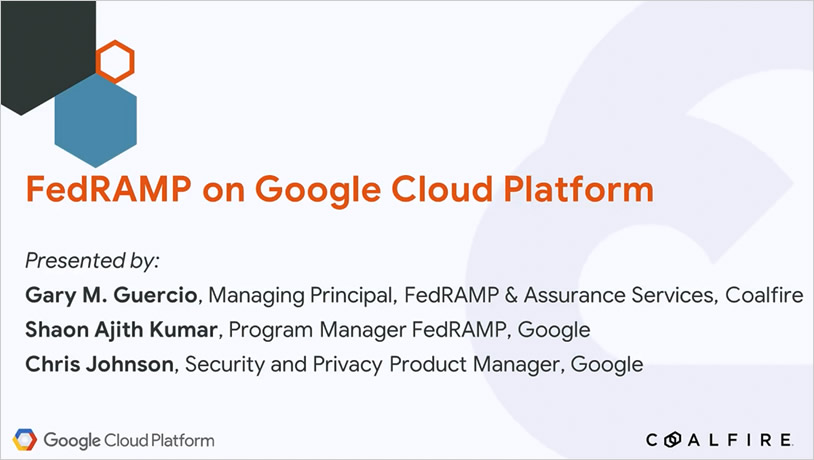 FedRAMP on Google Cloud Platform
