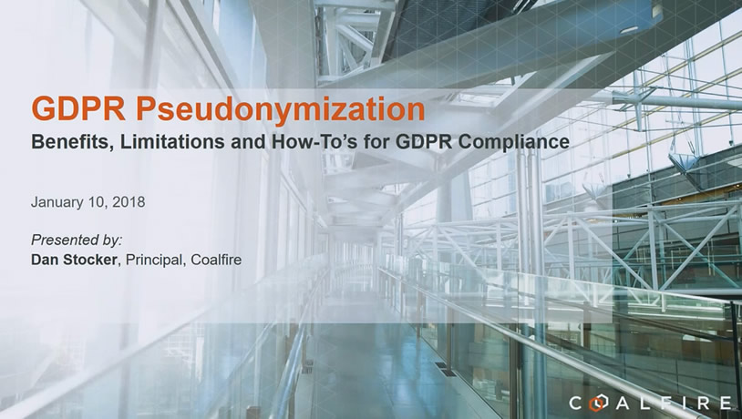GDPR Pseudonymization - Benefits, Limitations and How-To's for GDPR Compliance
