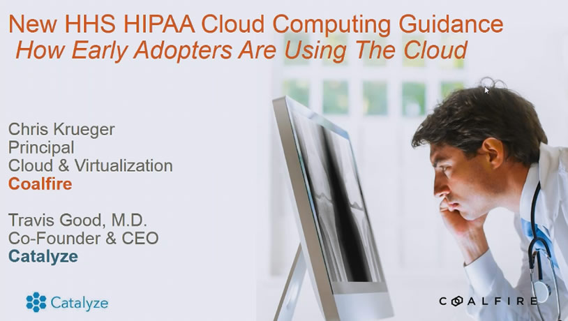 New HHS HIPAA Cloud Computing Guidance