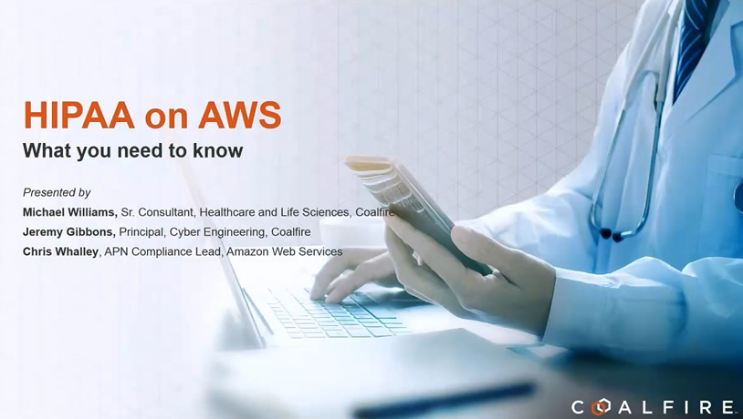 HIPAA on Amazon Web Services