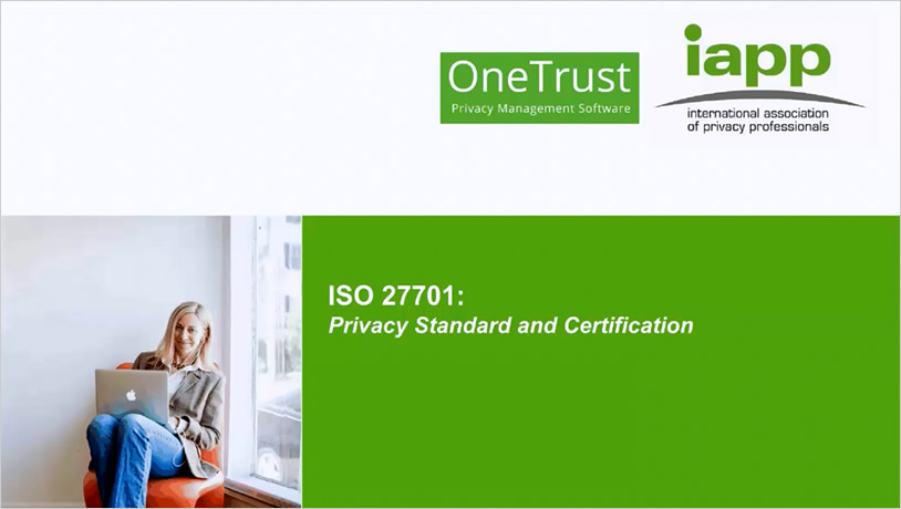 ISO 27701: Privacy Standard and Certification