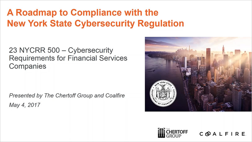A Roadmap to Compliance with the New York State Cybersecurity Regulation
