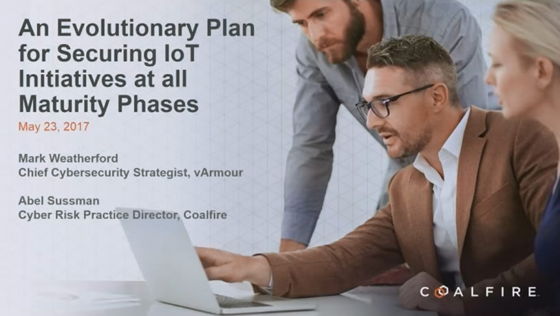 An Evolutionary Plan for Securing IoT Initiatives at all Maturity Phases