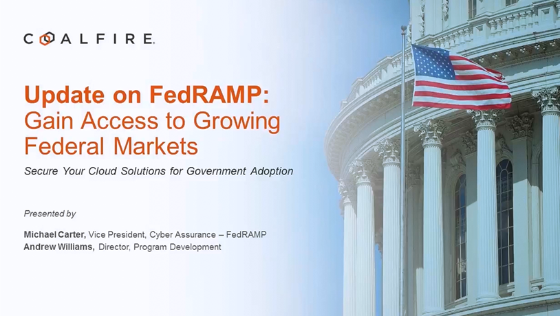 Update on FedRAMP: Gain Access to Federal Markets