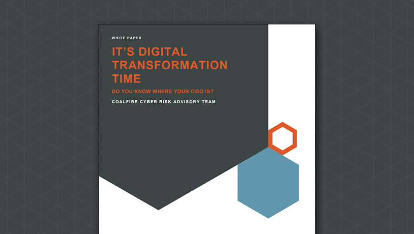 It's digital transformation time