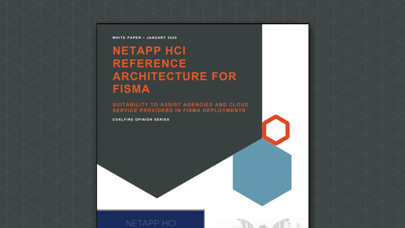NETAPP HCI Reference Architecture for FISMA