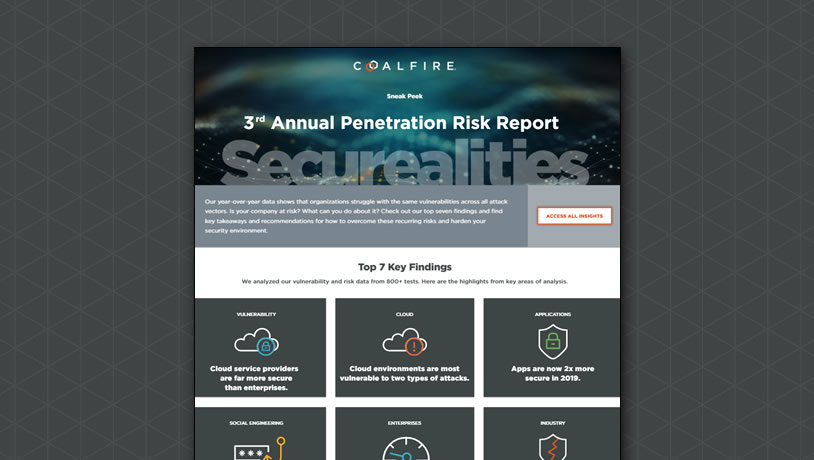 3rd Annual Penetration Risk Report