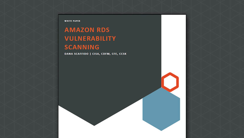 Amazon RDS Vulnerability Scanning