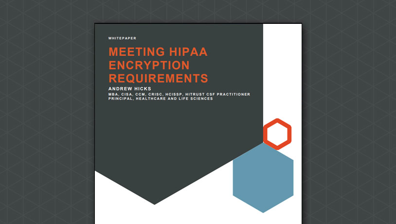 Meeting HIPAA Encryption Requirements