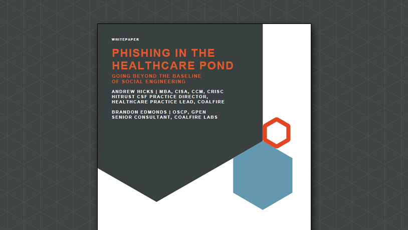 Phishing in the Healthcare 'Pond'