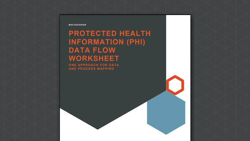 Protected Health Information (PHI) Data Flow Worksheet