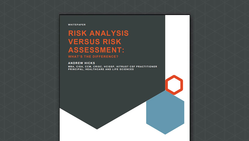 Risk Analysis versus Risk Assessment… What's the Difference?