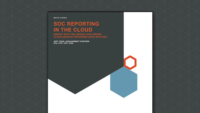 SOC Reporting in the Cloud