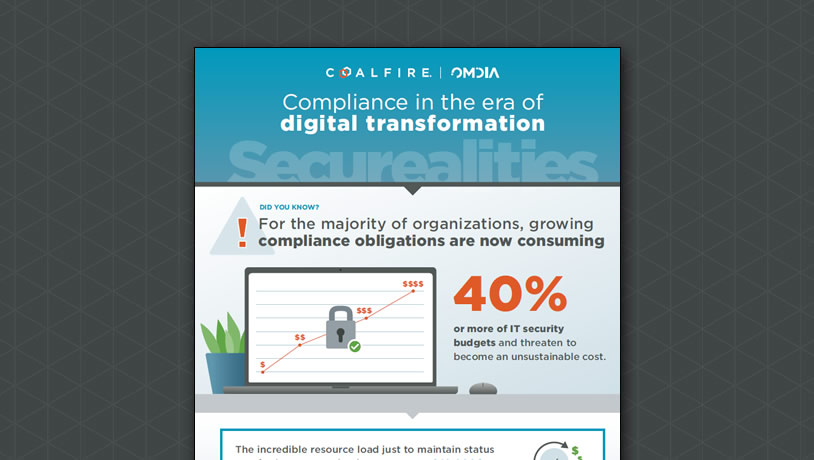 Infographic: Compliance in the era of digital transformation