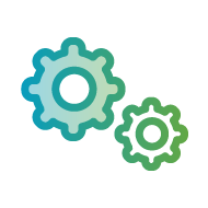 Cloud managed services Icon