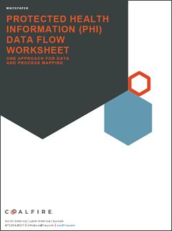 Coalfire Registration For Healthcare Phi Data Flow Worksheet